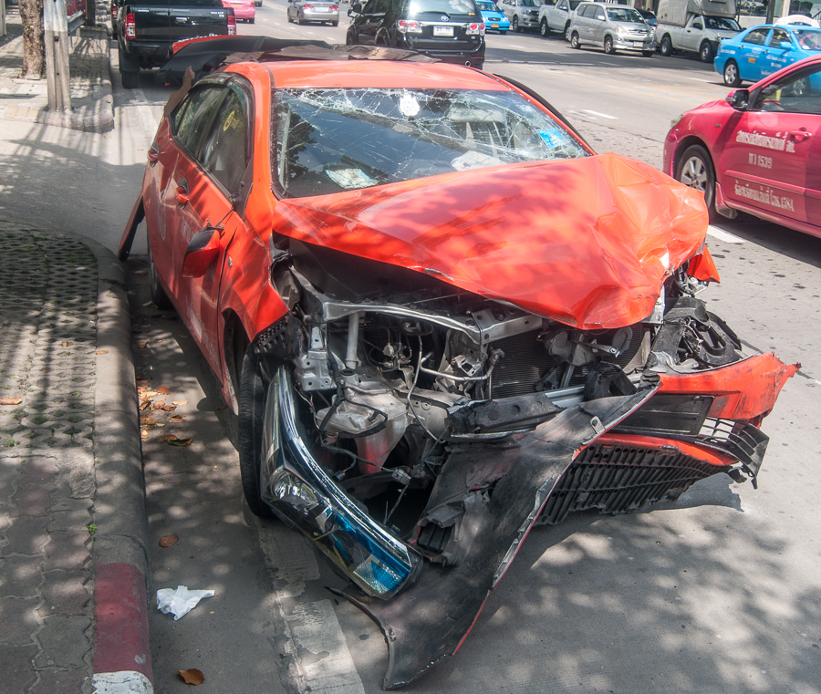 Accident à Bangkok