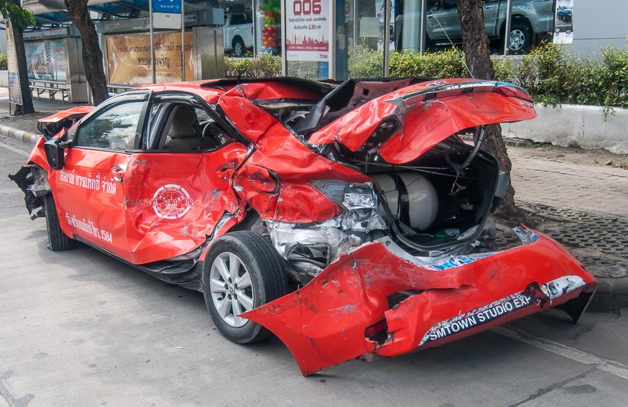 Accident à Bangkok